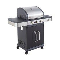 Barbecue gaz 3 bruleurs + réchaud