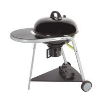 Barbecue rond 55 cm avec chariot