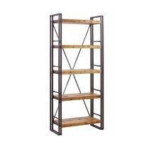 Etagère 190 cm 5 niveaux en bois recyclé et métal - MULGA