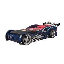 Lit voiture 246,6 x 111 x 68 cm + matelas bleu - GRAN TURISSMO