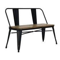 Banc 110x46x80 cm en bois et métal - ARTY