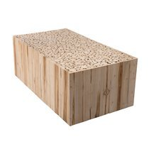 Table basse 110 cm en branches - teck