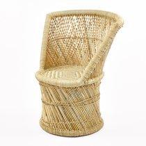 Fauteuil 45x45x80 cm en bambou naturel