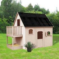 Maison de jardin en duplex 3,05x2,1x2,5 m en pin