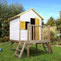 Maison de jardin sur pilotis 1,8x1,79x2,05 m en pin