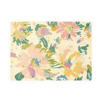 Tapis 160x230 cm en laine à motif floral - NEDLE