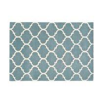 Tapis 160x230 cm en velours bleu clair - HAKIN