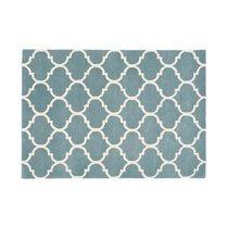 Tapis 200x290 cm en velours bleu clair - HAKIN