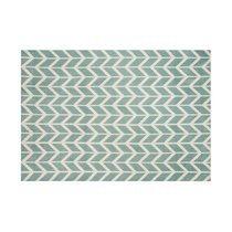 Tapis 200x300 cm en polyester bleu clair - RENZO