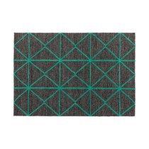 Tapis 120x170 cm style géométrique vert - ZILFA