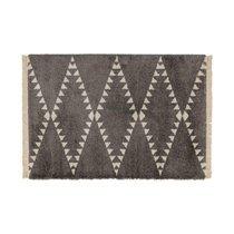 Tapis 120x170 cm design losanges marron - JOLIA