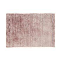 Tapis 120x170 cm en viscose rose - FLASH