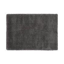 Tapis 160x230 cm en polyester anthracite - MARY