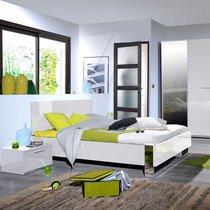 Lit 160x200 cm blanc - MAKRO