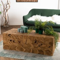 Table basse 121x62x43 cm en teck - TEAKY