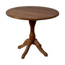 Table à manger ronde 90 cm en chêne - GINA