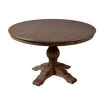 Table à manger ronde 120 en chêne - GINA