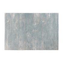 Tapis 230x160 cm en tissu polypropylène bleu gris