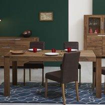 Table à manger avec allonge 180/230 cm en chêne - SELVY
