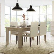 Table à manger 180 cm en chêne clair - BRAXY