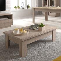 Table basse 110 cm en chêne clair - BRAXY