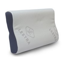 Oreiller à mémoire de forme ergonomique 40x60 cm confort medium