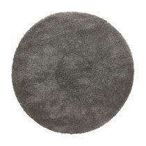 Tapis rond 200 cm en tissu gris - STEEN