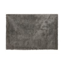 Tapis 160x230 cm en tissu gris - STEEN
