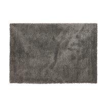 Tapis 120x170 cm en tissu gris - STEEN