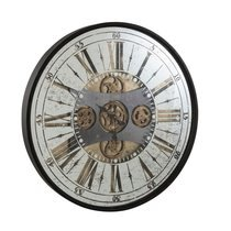 Horloge ronde 78 cm avec chiffre romains