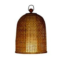 Suspension 45x60 cm en bambou naturel