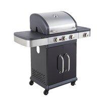 Barbecue au gaz 3 brûleurs et plancha - FIDGI