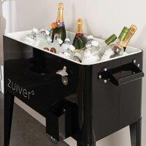 Meuble-bar réfrigérant 91x39x84,5 cm noir