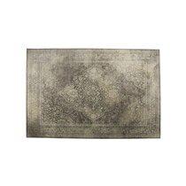 Tapis 170x240 cm en tissu beige - RUGGED