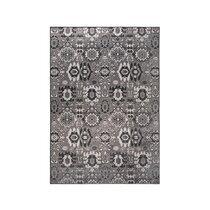 Tapis design 170x240 cm en velours gris