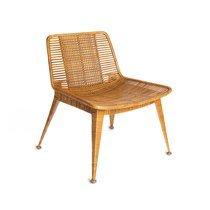 Chaise 61x62x71 cm en rotin miel clair