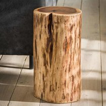 Table d'appoint 35x30x45 cm en acacia massif naturel - STACY