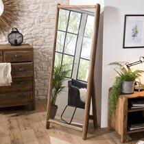 Miroir sur pied 62x8x165 cm en pin recyclé - GLAYNE