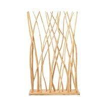 Paravent branche 102x32x196 cm en bois naturel