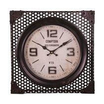 Horloge Comptoir des Ferronniers 40 cm en fer et verre