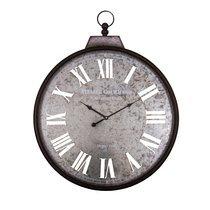 Horloge Atelier gourmand 60 cm en fer et zinc