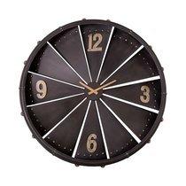 Horloge Réacteur 80 cm en fer noir
