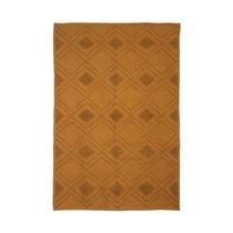 Tapis 120x180 cm en coton ocre - RINGLY