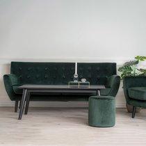 Canapé 3 places 180x80x81 cm en velours vert - VOLOOS