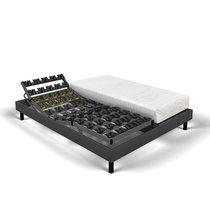 Matelas mousse + sommier de relaxation 2x90x200 cm ardoise - SPAY