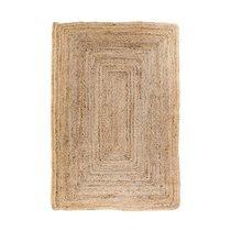 Tapis 120x180 cm en jute naturelle tressée - FLORA