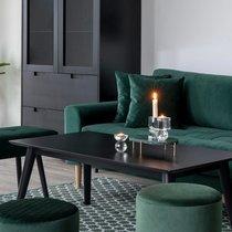 Plateau de décoration 30x18x6,5 cm en marbre vert foncé