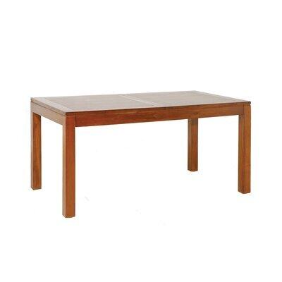 Table à manger en acacia avec rallonge 160/200cm - VOTARA