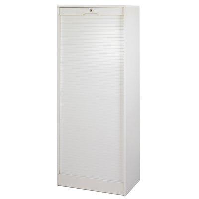 Classeur double haut 170cm blanc