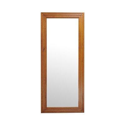 Miroir à poser 210 cm en chêne moyen - HELENE